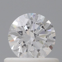 0.50ct Round D VVS1 Natural HPHT GIA Certified Natural Diamond