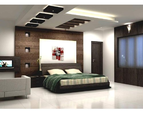 Interior Designing Rectangle Bedroom Interior Architect Interior Design Town Planner From Lucknow