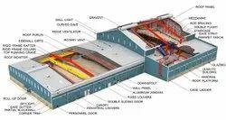 Steel Prefab Peb Designing Services