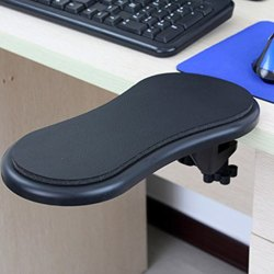 Arm Rest Pad - Portable Desk Chair Attachable Arm Support For Computer Pc