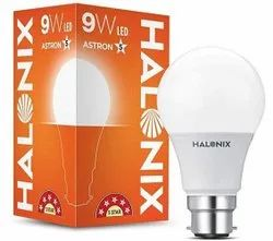9 W Warm White Halonix Photon Plus LED Bulb, Base Type: B22