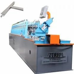 Half Automatic Tee Bar Roll Forming Machine For Various Types Ceiling Tee Bar