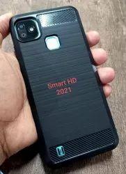 TPU Infinix Smart HD 2021 Hybrid Black Mobile Cover