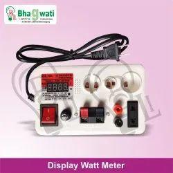 Display Watt Meter