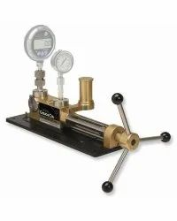 Stainless Steel Drilling Pressure Gauge Calibration Jig, For Industrial