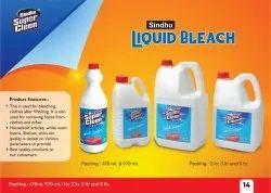 Liquid Bleach, Packaging Size: 1 L