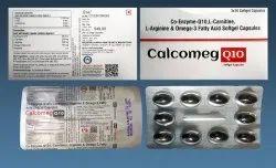 Co-enzyme Q10 100 Mg L-carnitine 250 Mg L-arginine 200 Mg Omega-3 Fatty Acid