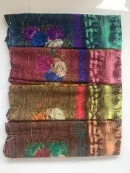 ligalz presents printed chiffon sarees