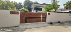 Stainless Steel Gate With HPL Sheet