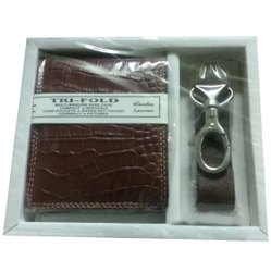 Male Leather Promotional Gift Set