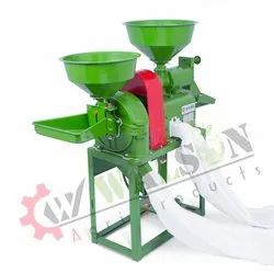 1RK30 Integrated Rice Mill Machine With Hammer Mill