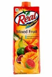 1 Litre Real Fruit Juice, Packaging Size: 1000 ml, Packaging Type: Tetra Pack