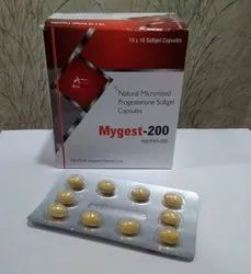 Natural Micronised Progesterone 200mg Softgel Capsules