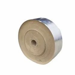 Silver 140 GSM Laminated Paper Roll, For Disposable Dona Making