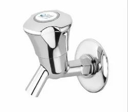 PURE FLOW Wall Mounted Abs Chrome Bib Cock, For HOME, Packaging Type: Box Packing