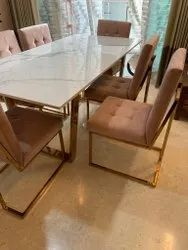 Decor & Fabricage Rose Gold Pvd Stainless Steel Furniture, For Home, Material Grade: 304