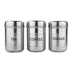 Stainless Steel Storage Canister Set