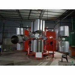 Lab Biaxial Rotomoulding Machine
