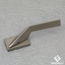 Rectangular Gold Coated Lever Handle-40