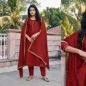 Four Dots Shubharambh Vol 2 By Kessi Unstitched Salwar Suit- 4 Pcs Set