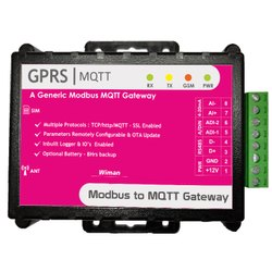 Modbus RTU To MQTT Gateway