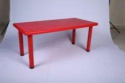Decorative Red school Plastic Table