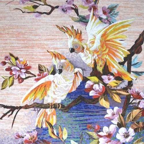 Artistic Hand Cut Glass Mosaic Tiles