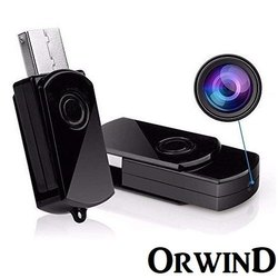 Black 4K Usb Pen Drive Camera, For Security