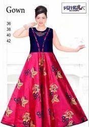 Wedding Wear Stitch Women Fancy Long Gown