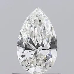 0.50CT Pear G SI2 GIA Certified Natural Diamond