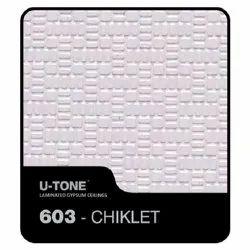 603-Chiklet PVC Laminated Gypsum Ceiling Tile