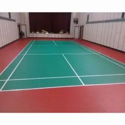 Indoor Sports Synthetic Flooring Service