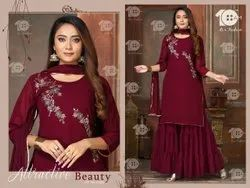 10 AM Georgette Sharara Suit