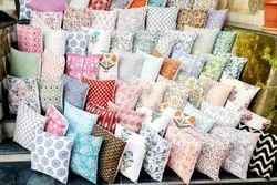 Printed Stylish Cotton Cushion Covers Exporter