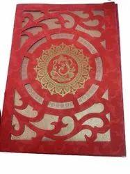 Paper Wedding Card, 2 Leaflet