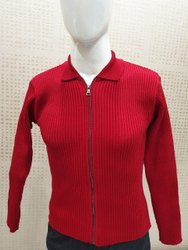 Winter Hosiery Zipper School Uniform, Size: Medium