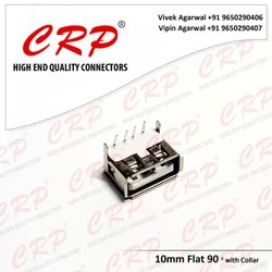 Female/Jack 10 Mm Flat 90 Connector
