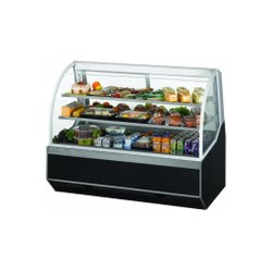 Glass,Metal Refrigerator Display Case, For Restaurant