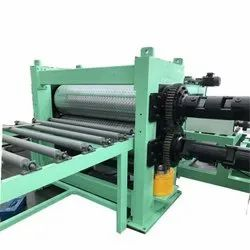 Metal Embossing Machine For Thicker Coil Willow Pattern
