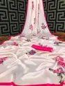 Women Latest Satin Silk Saree