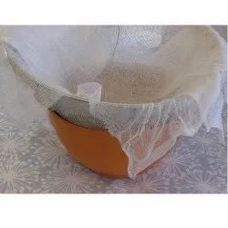 White Strainer Cheesecloth, Muslin Cloth, Size: 50 X 50 X 0.5 Cm