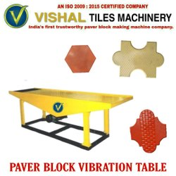 Vvt02 Vibro Paver Block Viration Table