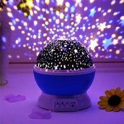 Black Plastic Star Master Lamp Light, For Lighting