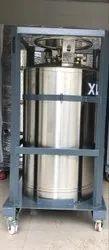Stainless Steel 247 L Taylor-Wharton Liquid Cylinder (Dura Cylinder), 24 Bar, 175 Kg