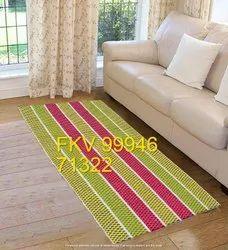 Handloom Cotton Mats Rugs Carpets