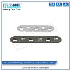 Broad Locking Compression Plate 4.5mm/5.0mm