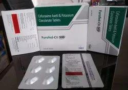 Cefuroxime Axetil 500mg Potassium Clavulanate 125mg  Tablet