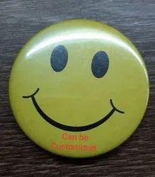 Round Pin Badge