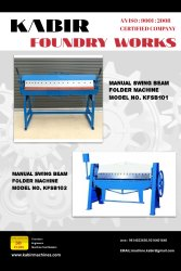 Sheet Metal Bending Folding Machine