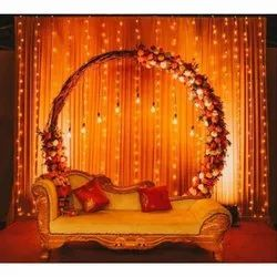 Artificial Engagement Stage Decoration Services, in Kolkata